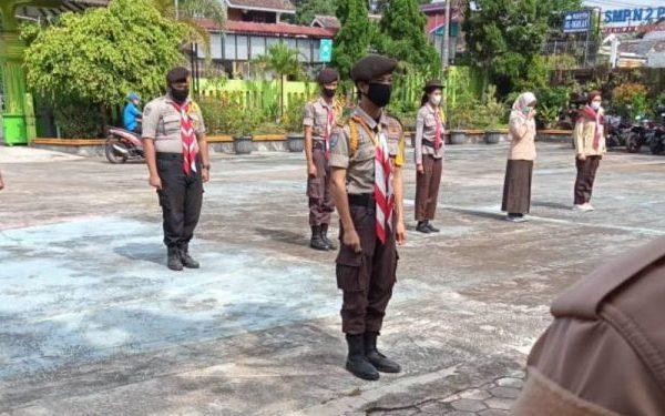 Apel Kesiapsiagaan Erupsi Gunung Merapi SMP Negeri 2 Pakem