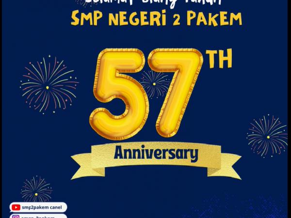 HUT SMPN 2 PAKEM